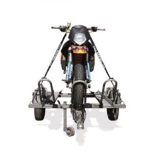 Preprava motocykla-popruhy